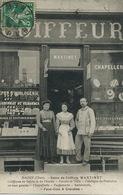 Salon De Coiffure Martinet à Baugy . Horlogerie Nerondes. Postiches. Chapellerie. Parfumerie . Cravates - Artisanat