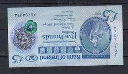 2017- £5 - Irlanda