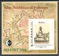 Bloc CNEP N° 71 Salon Paris Printemps 2016 BELFORT - CNEP