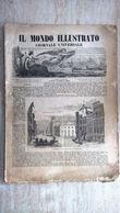Il Mondo Illustrato Giornale Universale N.2 1847 Inondazione Di Roma - Delle Strade Ferrate - Ferrovie - Sardegna - Ante 1900