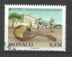 Monaco  2014  Mi.Nr. 3184 ,  EUROPA CEPT - Musikinstrumente - Gestempelt / Used / (o) - Europa-CEPT