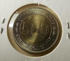 Ecuador 500 Sucres 1997 Varnished - Ecuador