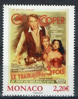Monaco, Movie With Grace Kelly, Princess Of Monaco, High Noon, 2017, MNH VF - Unused Stamps