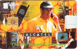 ZIMBABWE - Alcatel($100), Tirage 30000, Exp.date 12/00, Used - Simbabwe