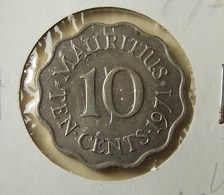 Mauritius 10 Cents 1971 Perhaps Varnished - Mauritius