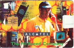 ZIMBABWE - Alcatel($50), Tirage 20000, Exp.date 12/00, Used - Zimbabwe