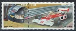 Monaco, James Hunt, British Racing Driver, Formula One, 2017, MNH VF - Unused Stamps