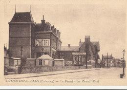 AM 688 / C P A  - GRANDCAMP LES BAINS   (14)  LE PERRET LE GRAND HOTEL - France