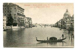 VENEZIA - CANAL GRANDE PRESO DAL PALAZZO DON CARLOS. ITALIA ITALY CPA POSTAL CIRCA 1900's NOT CIRCULATED - LILHU - Venezia (Venice)