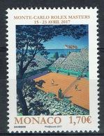 Monaco, Tennis, Monte-Carlo Rolex Masters 2017, MNH VF - Unused Stamps