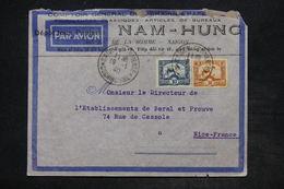 INDOCHINE - Enveloppe Commerciale De Saigon Pour Nice En 1940 - L 25993 - Indochine (1889-1945)