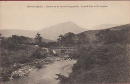 Belgisch Congo Belge Chemin De Fer Matadi Leopoldville Pont M'Pozo Et Pic Cambier Spoorbrug Brug - Autres