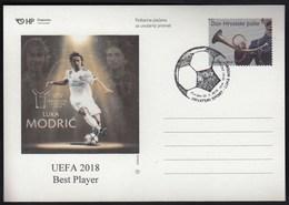 Croatia Zagreb 2019 / Football / Luka Modric / UEFA 2018 Best Player - Kroatien
