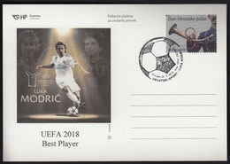Croatia Zagreb 2019 / Football / Luka Modric / UEFA 2018 Best Player - Croatie