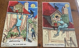 Romeo Et Juliette ~ 2 Cards - Humour