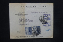 CHILI - Enveloppe Commerciale De Santiago Pour Paris , Affranchissement Plaisant - L 26001 - Chile