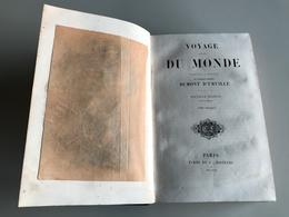 VOYAGE AUTOUR DU MONDE Tome 1 - Contre Amiral DUMONT D'URVILLE - 1853 - Geographie