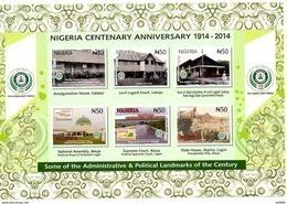 2016 NIGERIA - Centenary, Architecture - Nigeria (1961-...)