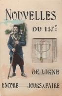 Militaria : Régiment Du 157é De Ligne ( Chasseurs Alpins ) : à Système Ouvrir La Gamelle = 10 Vues - Carte Rare - Guerre 1914-18