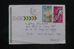 AFARS ET ISSAS - Enveloppe De Djibouti Pour Toul En 1976 , Affranchissement Plaisant - L 26019 - Afar- En Issaland (1967-1977)