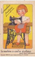 61. FLERS. CPA . PUBLICITE  LA MACHINE A COUDRE PRATIQUE SINGER - Werbepostkarten