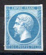 FRANCE - YT N° 14B - Neuf * - MH - Cote: 550,00 € - 1853-1860 Napoleon III