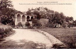 MAUZENS - MIREMONT  -  Viaduc De La Loulle Et Ruines Du Château Féodal De Miremont, Brûlé Pendant La Révolution - France