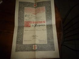 1932 ISTITUTO INTERUNIVERSITARIO ITALIANO  - Corsi Di Roma - Tenuti Presso L'Associazioe ITALO - AMERICANA - Vecchi Documenti