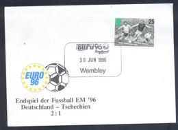 United Kingdom UK 1996 Cover Football Soccer Fussball UEFA EURO 1996 Wembley Finale Germany Czech Republic: Bobby Moore - UEFA European Championship