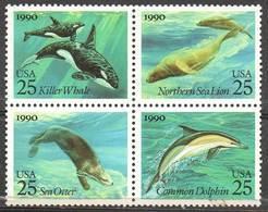 USA 1990 Marine Mammals - United States