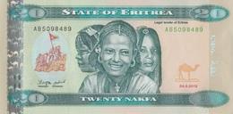 Erythrée / 20 Nakfa / 2012 / P-13(a) / UNC - Eritrea