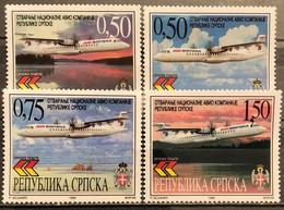 Bosnia And Hercegovina, Republic Of Srpska ,1999, Mi: 119/22 (MNH) - Avions
