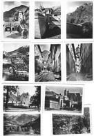 Ensemble De 10 Petites Photos De BRIANCON Dans Les Hautes Alpes - Orte
