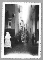 Photo Nature Intérieur D'une Petite Rue Algérie Ou Tunisie Belle Publicité Coca-Cola Années 50/60 - Orte