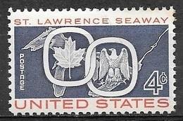1959 4 Cents St. Lawrence Seaway Mint Never Hinged - Ongebruikt
