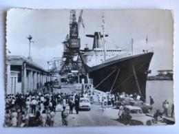 """CPA  (76) Seine Maritime - LE HAVRE - """"FRANCE"""" Le Plus Long Paquebot Du Monde - Port"""