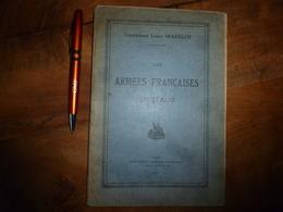 1918 LES ARMÉES FRANÇAISES EN ITALIE  -par Le Lieutenant Louis Madelin - Avec Carte Des Campagnes Dans L'Italie Du Nord - Français