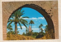 9AL866 MARRAKECH LA KOUTOUBIA  2 SCANS - Marrakech