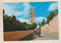 9AL867 MARRAKECH LA KOUTOUBIA  2 SCANS - Marrakech