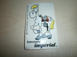 Autocollant /sticker  Entremets IMPERIAL - Autocollants