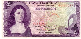 Colombia P.413   2 Peso 1972 Unc - Colombie