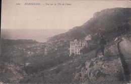 BEAUSOLEIL Vue Sur La Tête De Chien (Monté Carlo Le 28 Avril 1915) - Autres Communes