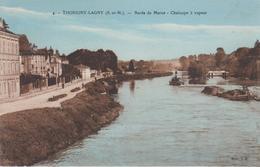 CPA Thorigny-Lagny - Bords De Marne - Chaloupe à Vapeur - Autres Communes
