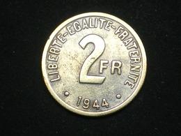 2 FRANCS FRANCE LIBRE PHILADELPHIE 1944  --------- TB  QUALITÉ !!!!!   (lotplbleu 2/33) - France