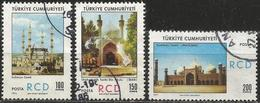 TURKEY 1971 - Mi. 2229-31 O, Regional Cooperation For Development (RCD) Between Turkey, Iran And Pakistan   Joint Issue - 1921-... Republik