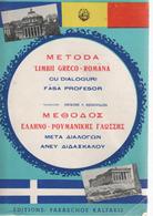 GREEK-RUMANIAN METHOD With DIALOGUES - IN VERY GOOD CONDITION - Woordenboeken