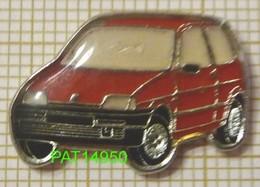 FIAT  CINQUECENTO  Rouge En Version EPOXY - Fiat