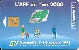 CARTE-PUCE-PRIVEE-PUBLIC-50U-GEMA-09/93-En749-APF AN 2000-V° N° Série B38105001-Utilisé-BE-Exite 2 Séries 5002 - France