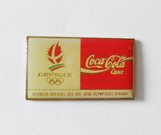 Pin's COCA COLA JO Albertville - Coca-Cola