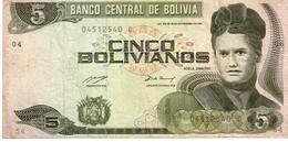Bolivia P.209 3 Bolivianos 1993 Fine - Bolivia